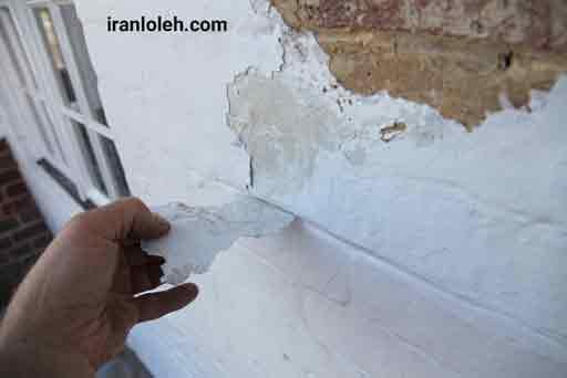 رفع نم ساختمان