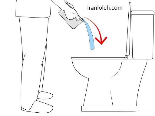 افتادن صابون در چاه دستشویی